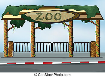 entrée, zoo
