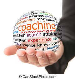 entraînement, concept, apprentissage