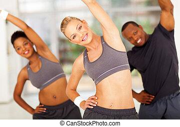 entraîneur, personnel, africains, deux, exercice