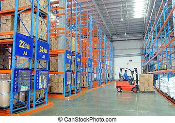 entrepôt, logistique