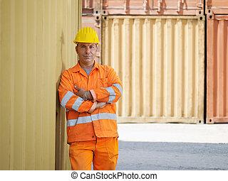 entrepôt, ouvrier industriel