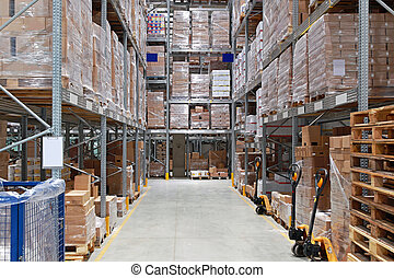 entrepôt, stockage