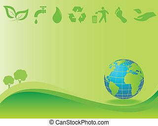 environnement, la terre, propre