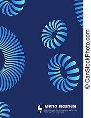 eps10, coloré, résumé, forme., illustration, vecteur, 3d