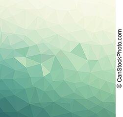 eps10, modèle, résumé, -, vecteur, fond, triangles