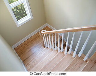 escalier, fenêtre
