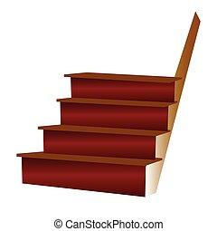 escalier, illustration