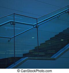 escalier, moderne