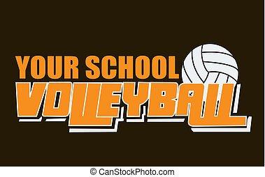 esprit, volley-ball, usure