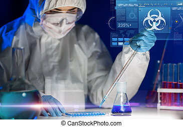 essai, confection, laboratoire, haut fin, scientifique