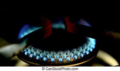 essence, brûlures, flamme