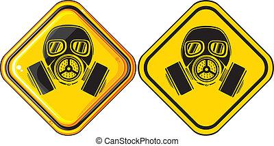 essence, hasardeux, masque, signe