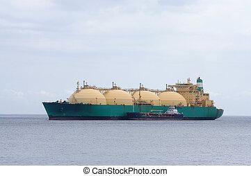 essence, liquéfié, pétrolier, naturel, transport