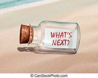 est, message, bouteille, suivant