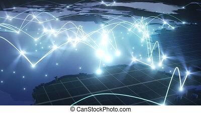 europe, text), réseau, global, (no, connexions, par, londres