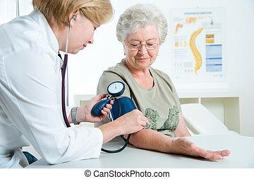 examen, monde médical