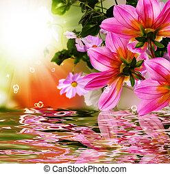 exotique, flore