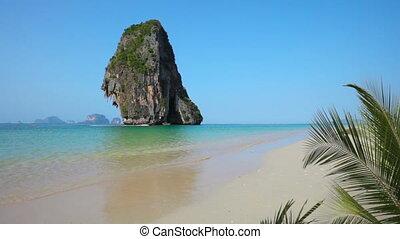 exotique, thaïlande, krabi, plage, -