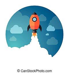 exploration spatial, fusée