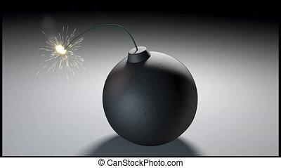exploser, bombe
