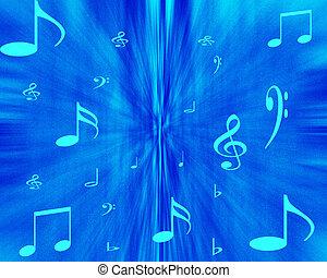explosion, musique