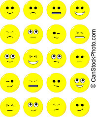 expressions, faces