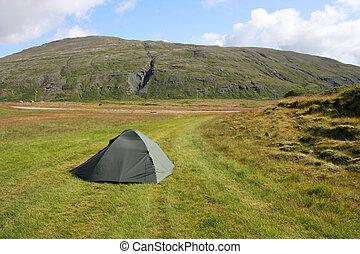 extérieur, camping