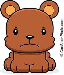 fâché, dessin animé, ours