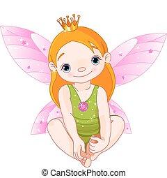 fée, petite princesse