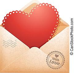 félicitation, jour, valentine