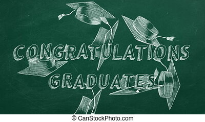 félicitations, diplômés