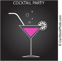 fête, cocktail