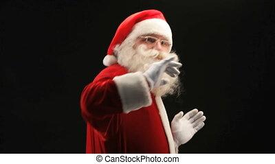 fête, santa