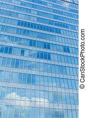 façade bâtiment, bureau