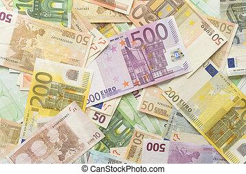 factures, euro