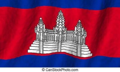 faire boucle, fond, cambodia signalent