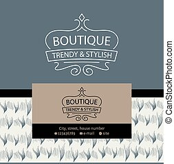 fait, fourrure, leather., vintage., texture, vecteur, luxe, logo, habillement, grandeur, fur.