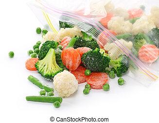 fait maison, légumes surgelés