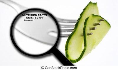 faits, nutrition, concombre