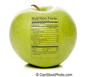 faits, nutrition, pomme