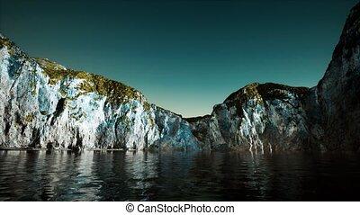 falaise, pierre, portugal, littoral