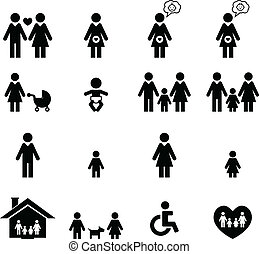 famille, icône