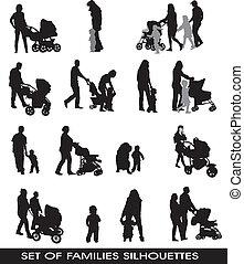 familles, parents, enfants