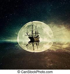 fantôme, bateau
