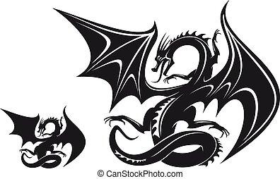 fantasme, dragon