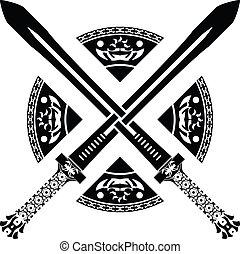 fantasme, seconde, variante, swords.