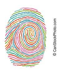 farb, fingerabdruck