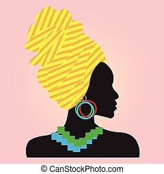 fashion., africaine