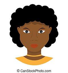 femme africain-américaine