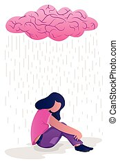 femme, dépression